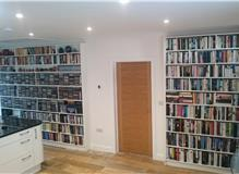 Bespoke Fitted Display Shelving