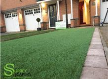 Artificial Lawn with Tegula Boarder