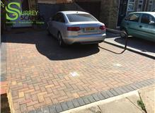 Autumn  Block paving