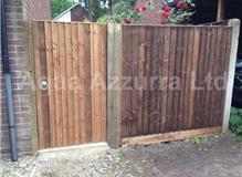 Aqua Azzurra Ltd Landscape Gardens - Fencing