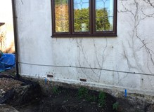 Construction of Walk In Bay Window