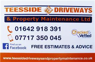Teesside Driveways & Property Maintenance Ltd