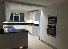 finished kitchen for local kitchen company