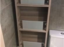 Revolving Mirror Cabinet