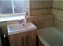 Vanity Basin, Bath, Tiling