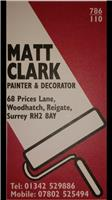 Matt Clark Decorating
