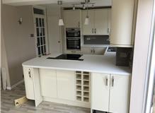 Finishing touch kitchen refurbishment