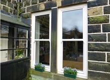 upvc Sliding Sash Windows in Bacup
