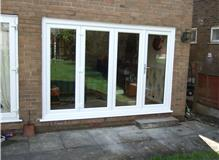 upvc bi fold patio doors in Halifax