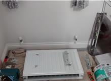 Fitting new radiator, Great Baddow.