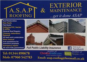 ASAP Roofing & Exterior Maintenance