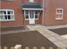 Paving and shingle borders
