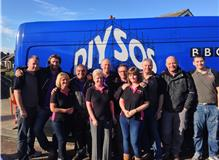 The Proud Instyle Team helping out again with Nick Knowles and the BBC DIY SOS Team