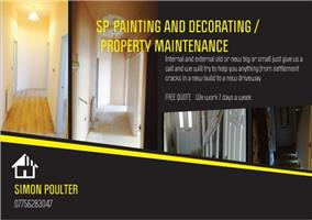 SP Painting and Decorating Property Maintenance