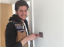 Chrome light switch