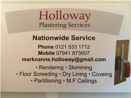 Holloway Plastering Services Limited