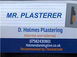 D Holmes Plastering