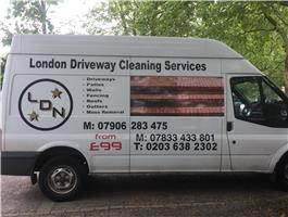 London Driveway Cleaning Services