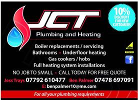 JCT Plumbing & Heating Ltd