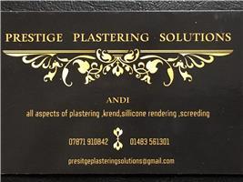 Prestige Plastering Solutions