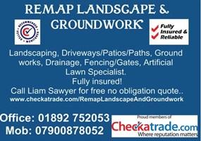 Remap Landscape, Building & Groundwork