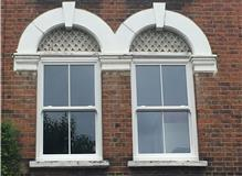 Installation of two UPVC Sash Windows