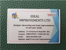 Ideal Improvements Ltd