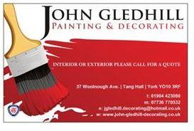 John Gledhill Decorating