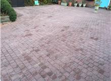 Driveway Cleaning - After - including Re-Sanding