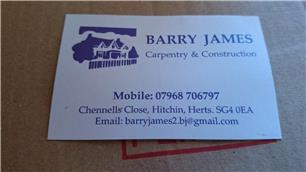 Barry James Carpentry & Construction