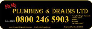 Fix My Plumbing and Drains Ltd