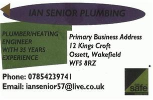 Ian Senior Plumbing and Heating