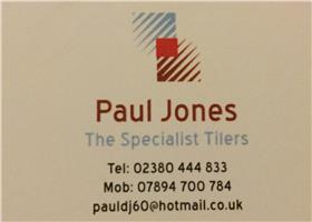 Paul Jones The Specialist Tiler