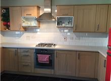 new work top and tiling