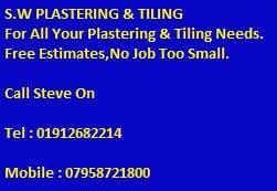 S W Plastering & Tiling