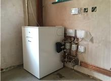 Worcester Oil Combination Boiler with Multi-Zoned heating for efficiency.