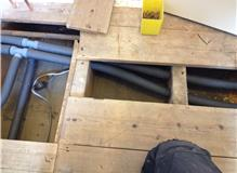 Insulated pipework to save our clients money long term, and we care about that!