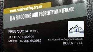 R and R Roofing and Property Maintenance