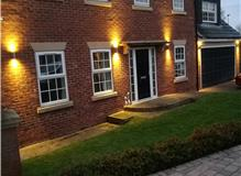 External up/down lights installed in Willington