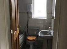 Bathroom before work began