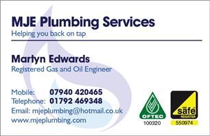 MJE Plumbing Services