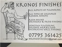 Kronos Finishes