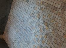 Mosaic stone bathroom