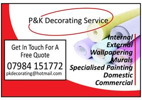 P&K Decorating Service