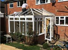 conservatory re-model