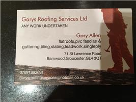 Gary's Roofing Services Ltd