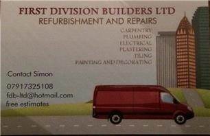 First Division Builders Ltd