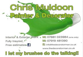 Chris Muldoon Painter and Decorator
