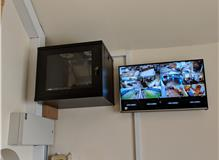 CCTV Monitoring Screen