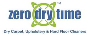 Zero Dry Time - Dry Carpet, Upholstery & Hard Floor Cleaners